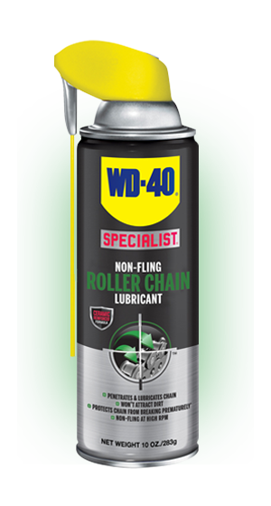 WD-40 Specialist Non-Fling Roller Chain Lubricant